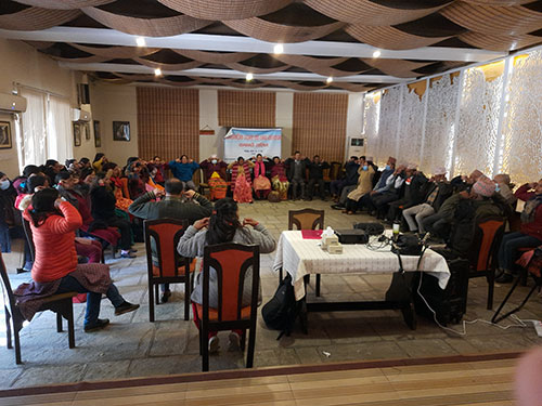 AF and CVSJ organized psychosocial counselling and stress management training for conflict victims in Pokhara
