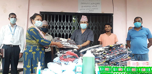 Advocacy Forum- Nepal Assisted Child Correction Home in Banke with Medical and Daily Supplies