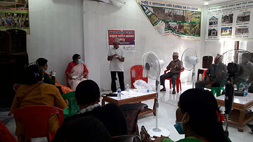 A Community-Level TJ Meeting held in Pathari, Morang: Victims Plan to Submit A Memorandum to the Local Government