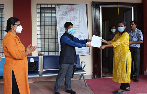 COVID-19 Infected Pregnant Woman denied Treatment in Rupandehi; Women HRDs Submitted A Memorandum