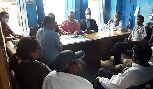 Human Rights Monitoring Committee monitors the prison in Banke, prisoners deprived of basic human rights