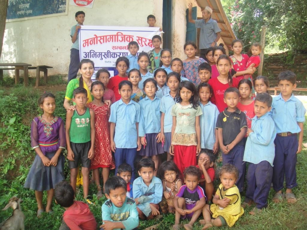 AF Provided Psycho-social Counseling for Earthquake Affected Children